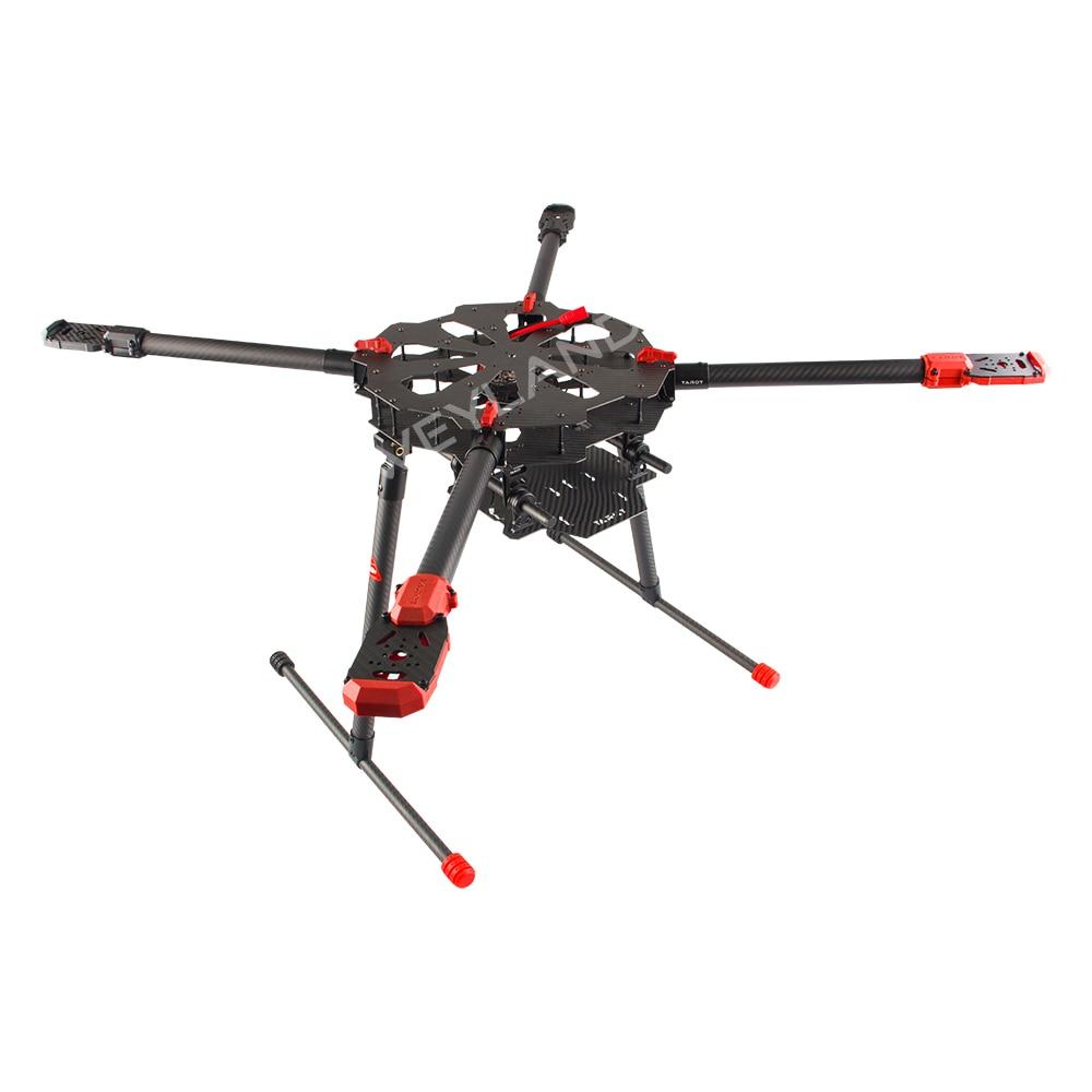 Tarot X4 4 eje carbono paraguas Fibra plegable RC quadcopter drone ...