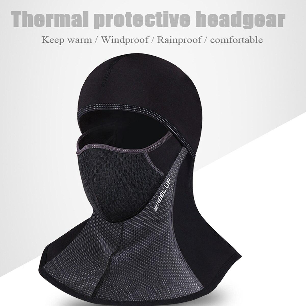 moto ciclismo máscara protetora capacete boné à