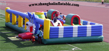 Hot seller Factory outletsGood Quality Inflatable Fun City Inflatable Bouncers Inflatable Trampoline For Sale