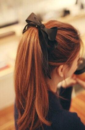 New Arrival Fashion Big Knot Bow Hair Accessories Hair Bands Girl's Lovely Gum Korea Style Hair Rope Cute Headband