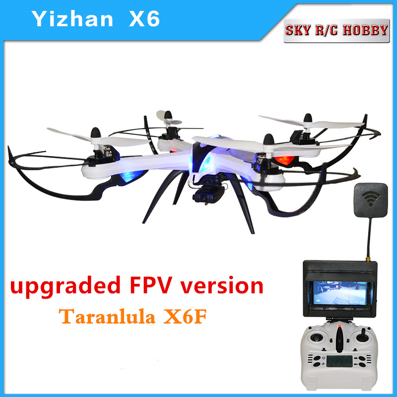 Original Yizhan Tarantula X6 FPV Gropo HD Camera 2.4G 4CH 6-Axis RC Quadcopter Drone Helicopter 1pc chrome abs head front center grill grille bumper trim cover for mazda 6 m6 atenza 2014 2015