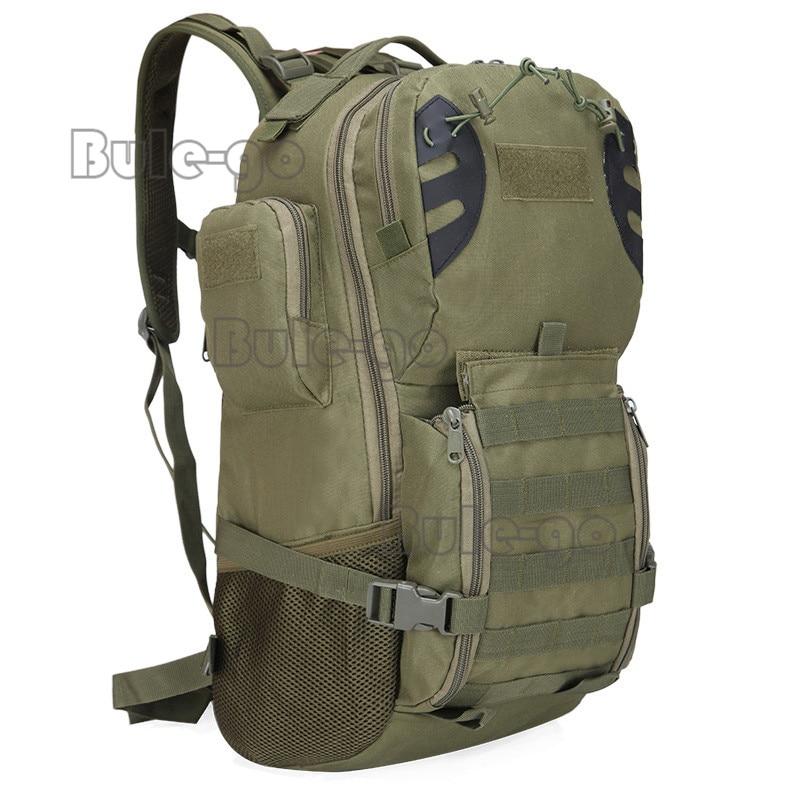 Sacchetto Sistema Pesca Black Dello purpose Molle 45l Militare Tattico Campeggio Zaino Di cp green acu Multi 7PW87Xq