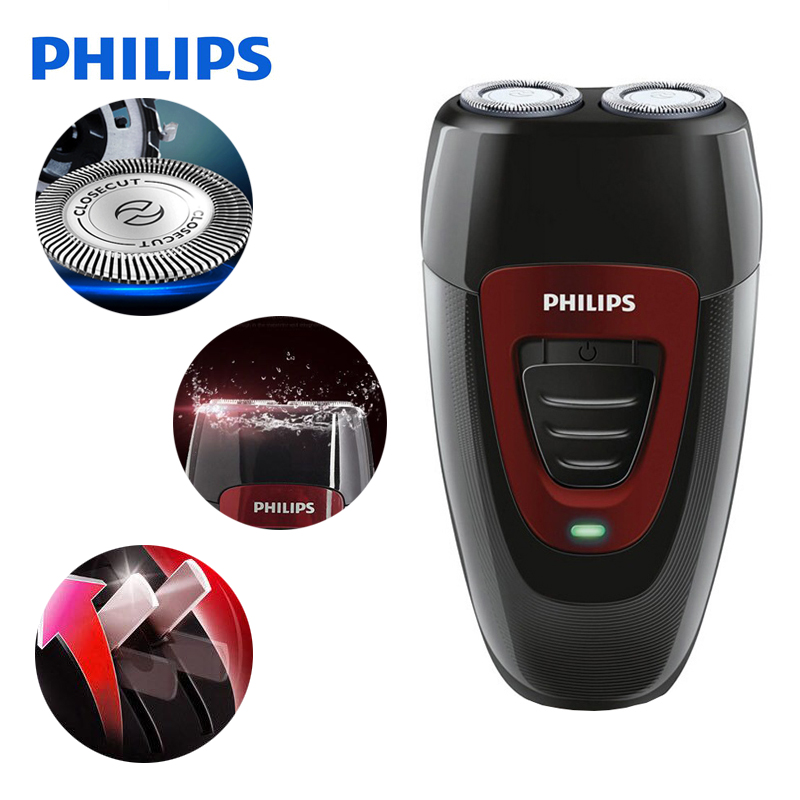 100% Original Philips Electric Shaver PQ182 Rechargeable With Ni-MH Battery 220V Voltage Electric Razor For Men philips pt786 electric men s shaver three heads razor