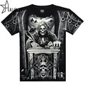 The new style 3D printed 2016 t shirt men mens top quality cotton tshirt hip hop mens o-neck short sleeve tops tees SMT117