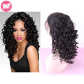 Brazilian Curly Hair Lace Front Wig For Black Women 7A Brazilian Hair Glueless Full Lace Wig Deep Curl Full Lace Human Hair Wigs