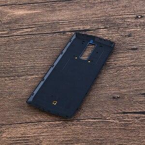 Image 4 - Alesser עבור Blackview P10000 פרו סוללה כיסוי עם מקרין סרט Ultra Slim מגן עבור Blackview P10000 פרו Bateria כיסוי