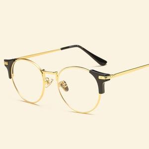 Image 2 - 2018 Fashion TR90 Glasses Frame Ultralight Vintage Eyewear Frames Men Women Optical Glasses Myopia Prescription Spectacle Frame