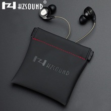 HZSOUND Highquality Earphone Portable Bag Headphone Accessories Headphones Case Bag PU Leather Bag Earphone Case Accessories Bag