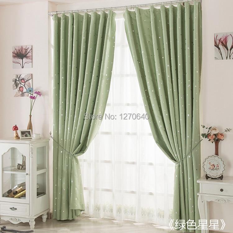 Ultime star design tenda per camera da letto living room home decor soundpro di ready made - Tende per sala da pranzo ...