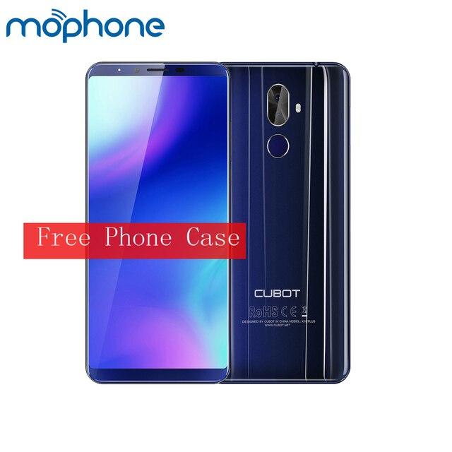 CUBOT X18 Plus 4G мобильный телефон Android 8,0 5.99inch18: 9 дисплей MT6750T Восьмиядерный 64 Гб Камера 20MP + 13MP Распознавание отпечатков пальцев