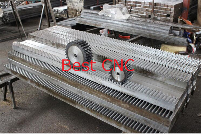 2pcs/lot 1Mod 1 Modulus High Precision Gear Rack steel 10*10*500mm + 2pcs 1M 17teeth pinion 2pcs lot ncp81101bmntxg ncp81101b 81101b