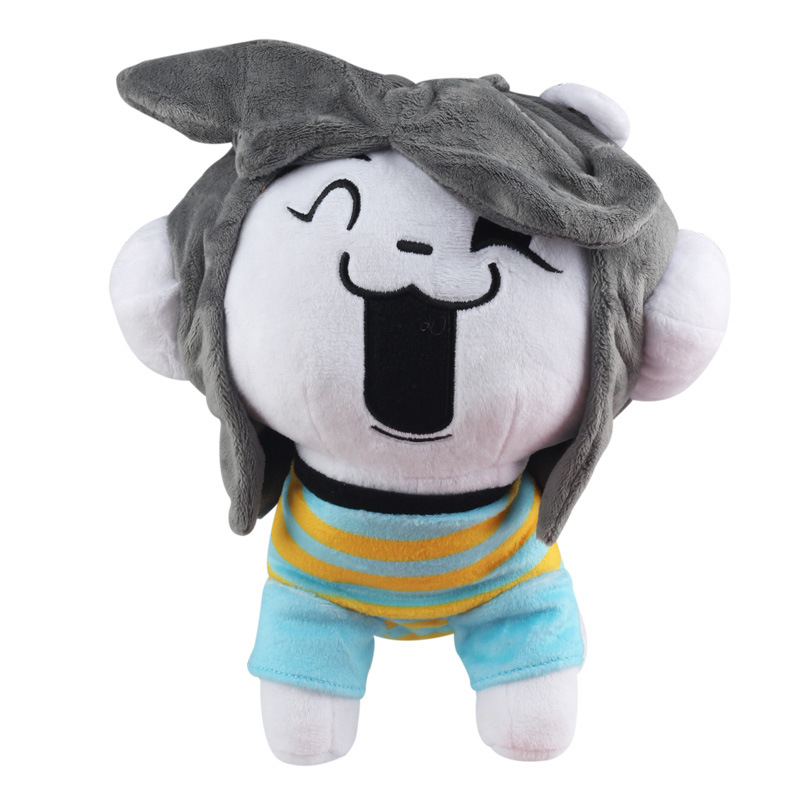 26cm Undertale Temmie Plush Toys Undertale Sans Dog Temmie Plush Doll Toy Soft Stuffed Animals Toys For Children Kids Xmas Gift