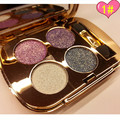 High Quality diamond bright colorful eye shadow palette super flash paleta de maquiagem Glitter eyeshadow with brush