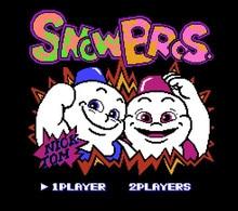 Снег братья 72 шпильки карточная игра для 8-битный игровой плеер