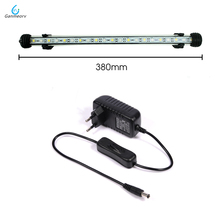 38cm Aquarium LED Fish Tank lamp LED Tube Bulb 21 LEDS Bar Light Submersible Waterproof 100-240V EU US SAA UK Plug 46cm 18pcs led aquarium fish tank light tube bar light underwater submersible air bubble safe lighting us eu uk saa plug