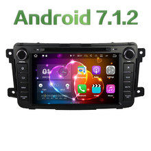 8″ Android 7.1.2 Quad Core 2GB RAM 16GB ROM Car DVD Stereo radio player DAB+ for Mazda CX-9 2007-2015 Support Bose System SWC