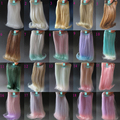 1pcs 15cm&25cm*100cm Doll Wigs for 1/3 1/4 1/6 BJD doll SD doll DIY Roll inward wigs Many colors