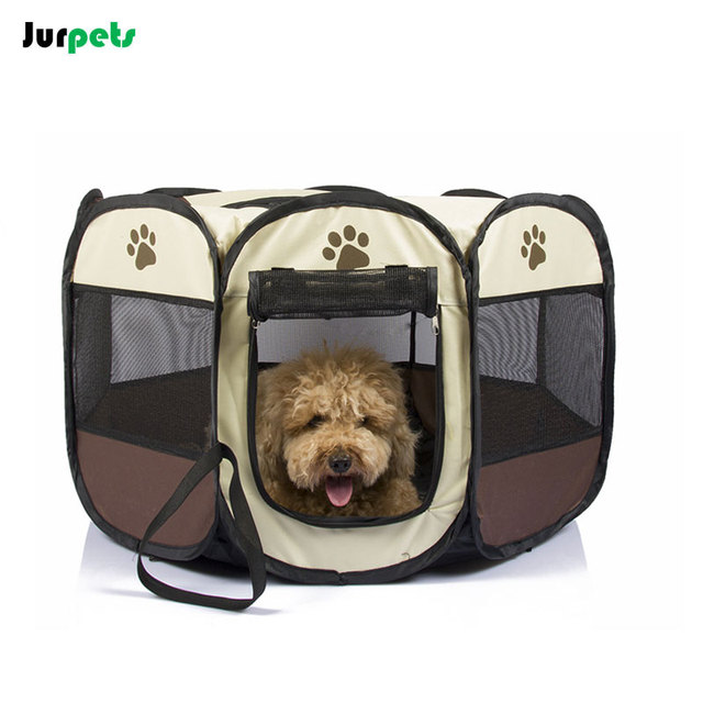 Foldable Octagonal Pet Tent Dog Fence Oxford Cloth Outdoor Cats Dogs Bed House Portable Dog Kennel  sc 1 st  AliExpress.com & Foldable Octagonal Pet Tent Dog Fence Oxford Cloth Outdoor Cats ...