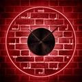 Musik Zeichen Farbwechsel Wand Licht Wohnkultur Violinschlüssel Musiker Musical Notizen Wanduhr mit multi farbige LED hintergrundbeleuchtung LED-Innenwandleuchten    -