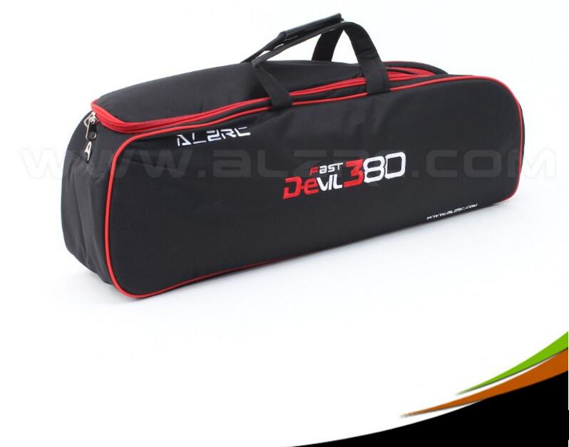 ALZRC 380 - Devil 380 FAST New Carry Bag - Black   For ALZRC380 Align SAB Goblin 380 alzrc devil 380 fast fbl super combo black rc 380 helicopter