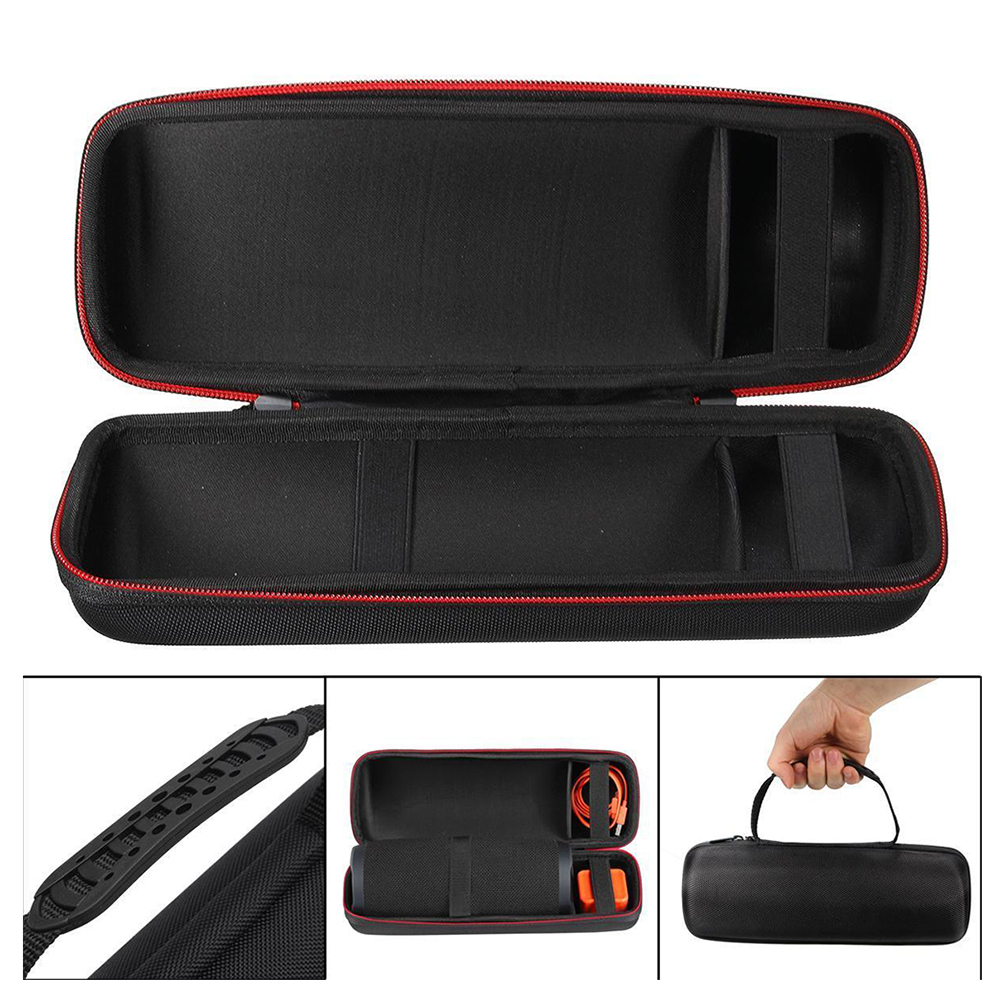3 Girds Hard Case Box Hdd Case HDD SSD Protective Bag With Zipper Cover Chargable Travel Case For JBL Charge 3 Bluetooth Speaker