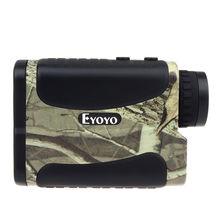 EYOYO 1000M Handheld 6x Golf Range Finder Speed Measure Scope Golfscope+Strap+Bag For Outdoor Hunting Golf Measure RangeFinder