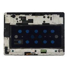 Untuk Samsung Galaksi Tab S T800 T805 Sentuh Layar Digitizer Sensor + LCD Tampilan Panel Monitor Assembly + Bingkai
