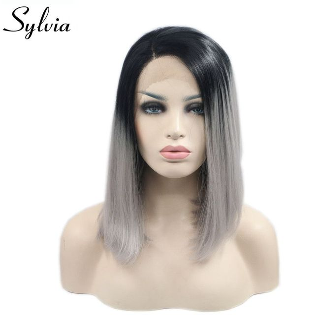 cheveux gris racine noir