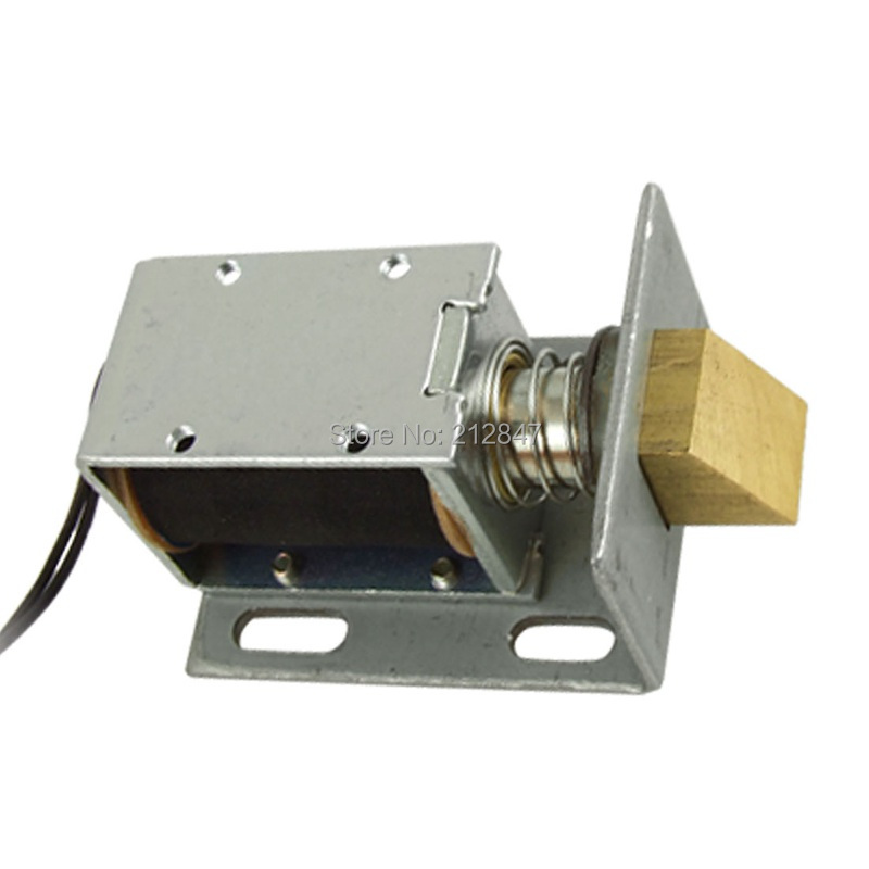 цена на DC 12V 1.3A Open Frame Type Solenoid for Electric Door Lock