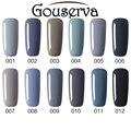 Gel Nail Polish 12 Colors Pick 1  UV Lamp Needed Nail Beauty For Nail Art Gray Series  Nail Varnish Soak Off Gel Lucky Gouserva