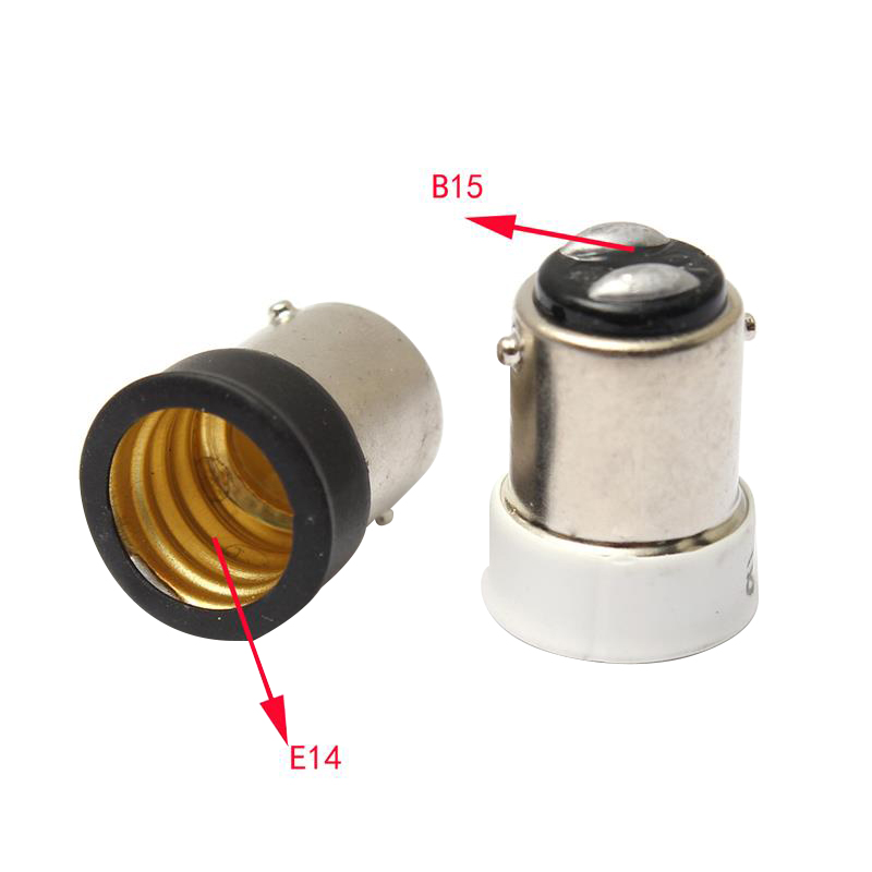 Quickly switch small bayonet B15 to small screw <font><b>E14</b></font> <font><b>socket</b></font> <font><b>lamp</b></font> holder base bulb <font><b>lamp</b></font> holder <font><b>lamp</b></font> <font><b>socket</b></font> adapter converterAC220V image