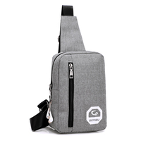 New England Style Polyester Messenger Bags Zipper Solid Men S Cross Body Bag High Quality Shoulder