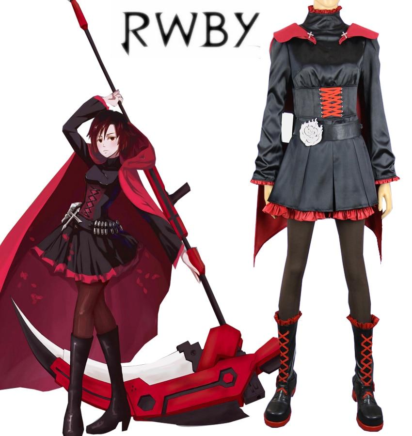 free shipping rwby season 1 red trailer ruby rose black