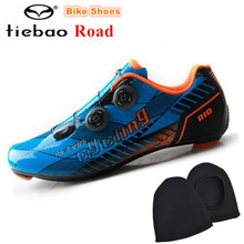 TIEBAO Riding Cycling Shoes off Road Carbon Sapatilha Ciclismo zapatillas deportivas mujer Bicycle Shoes Cycle Sneakers women