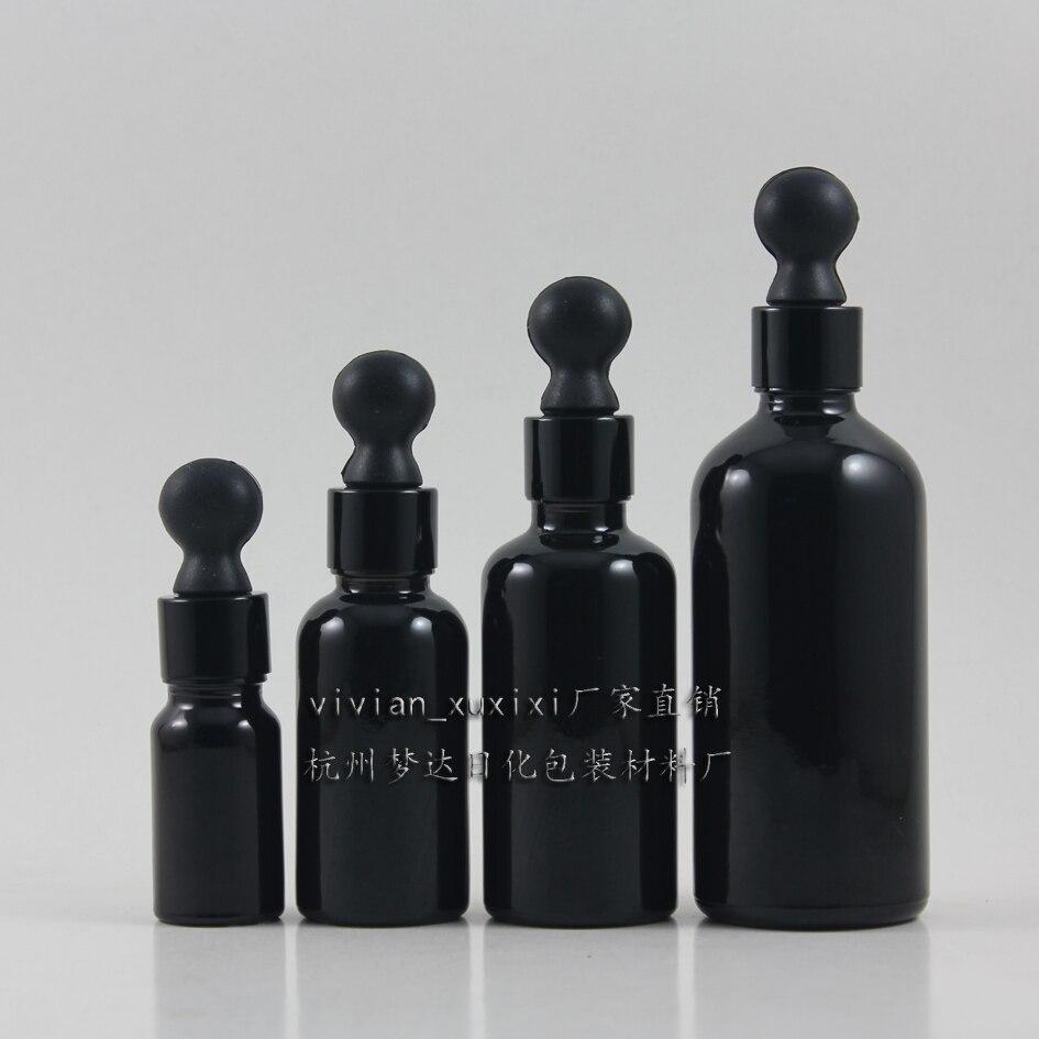50 Ml Dark Glass Bottles For Essential Oils 50ml Shiny