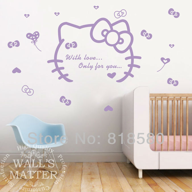 Hello Kitty Home Decor: Free Shipping Home Decor Lovely Hello Kitty With Love Only