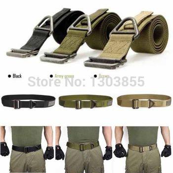 2015 Adjustable Survival Tactical Belt Emergency Rescue Rigger Militaria Military 3 Colors