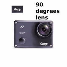GitUp Git2P 90 Degree Lens Action Camera Extra Battery+Dual Charger Standard Packing 16MP F2.5 5G2P Novatek 96660 2160P WiFi 2K