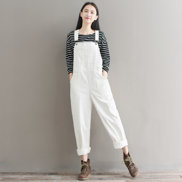 57393b07689 Vintage Womens Corduroy Jumpsuit Japanese Cute Solid Pink White Femme  Overalls Pants Plus Size Mori Girl s Suspenders Trousers-in Jumpsuits from  Women s ...