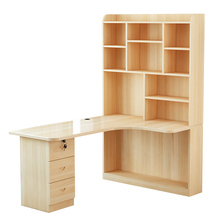 Bookshelf Combination Home Computer Wooden Corner Simple Kids' Study Desk(China)