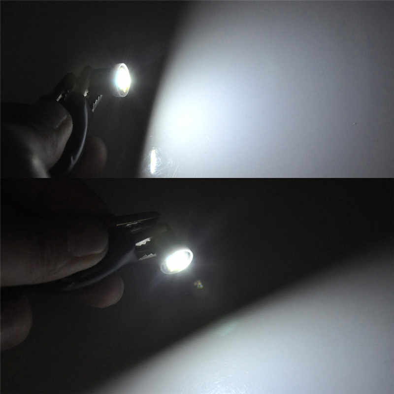 4X BA9S T4W Putih Cahaya 6500K 2W 3Led 7020 SMD LED Luminositas Tinggi Energi Mobil Auto Backup cadangan Bohlam Lampu DC 12V 294300