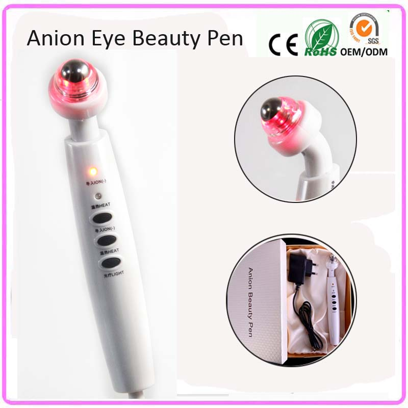Electric Far Infrared Red Led Light Galvanic Ion Nutrient Import Ball Roller Eye Beauty Care Wrinkle Removal Beauty Instrument цена и фото