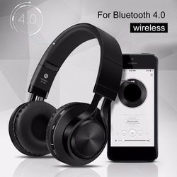 Sound Intone Foldable Smart Wireless Bluetooth 4.0 Headphones Stereo with Build-in Microphone Wired Music Headsets MP3 Hot Sale