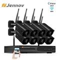Jennov 2MP 8CH домашней безопасности Беспроводной Камера NVR Wi-Fi видеокамера наблюдения CCTV уличная Камера 1080P P2P HD открытый IP Камера IP66