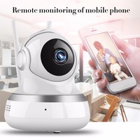 LESHP Wireless IP Camera 1080P HD Intelligent Monitor Home Security With LED Smart WiFi Audio CCTV Camera Dual Aerials