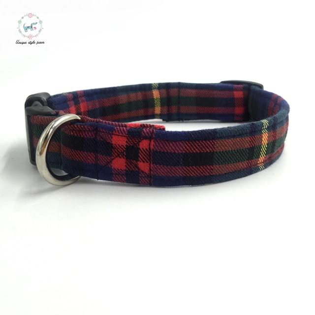 England Dog Collar Bow Tie