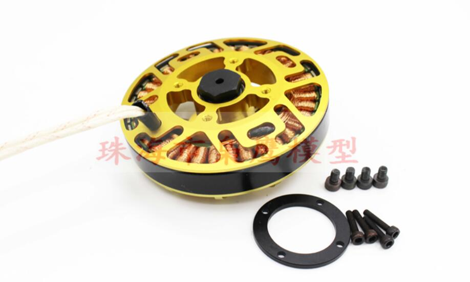 X8308S Brushless Motor High Power High Loading Motor for Large Hexacopter Octocopter Agricultural Drone HLY W9225 1 pcs x80 140kv 160kv agriculture drone brushless motor cruise multi axis large load large pull high efficiency hly t8 motor