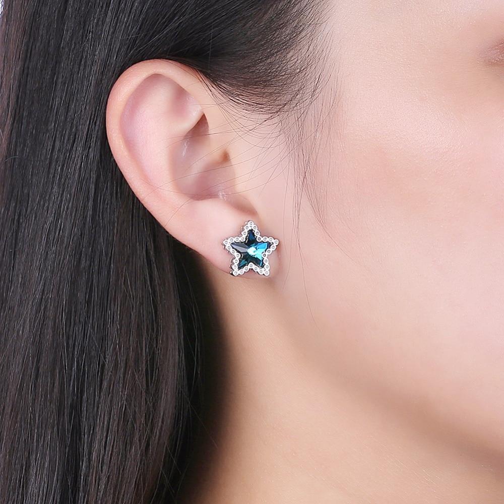 Pendientes de joyería fina con forma de estrella de cristal - Joyas - foto 5