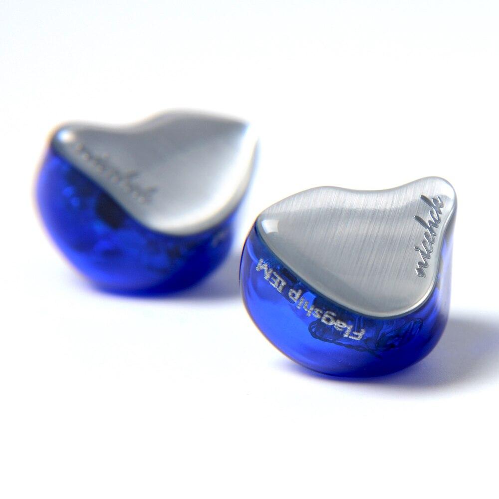 2018 NICEHCK NK10 10BA Unità di Azionamento In Trasduttore Auricolare Dell'orecchio 10 Balanced Armature HIFI Monitor Auricolare Con Staccabile Staccare 2PIN Cavo