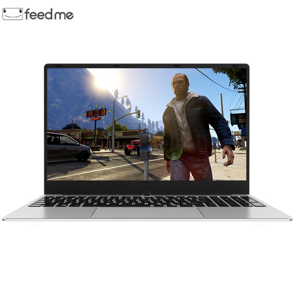 Boîtier métallique 15.6 pouces Intel i7 ordinateur portable 8 GB RAM 512 GB SSD 1920x1080 P Windows 10 2G dédié carte graphique double bande WiFi Gaming